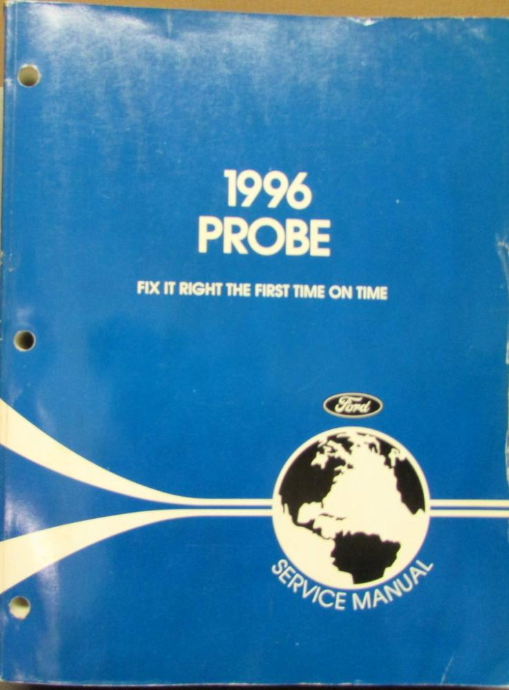 Ford probe workshop & owners manual | free download.
