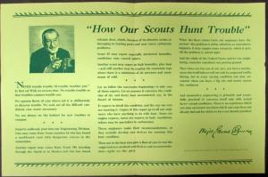 1938 Chrysler CBS Broadcast by Major Bowes How Our Scouts Hunt Trouble