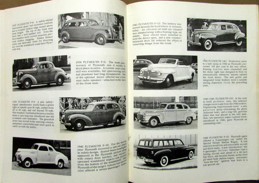 Pictoral History Chrysler Cars 1914 Thru 1969 Imperial Dodge ...