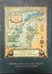 Circa 1926 GMC Proving Ground Story Book Original Milford Michigan