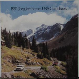 1991 Jeep Jamboree USA Guidebook Sales Brochure Original Event Schedule