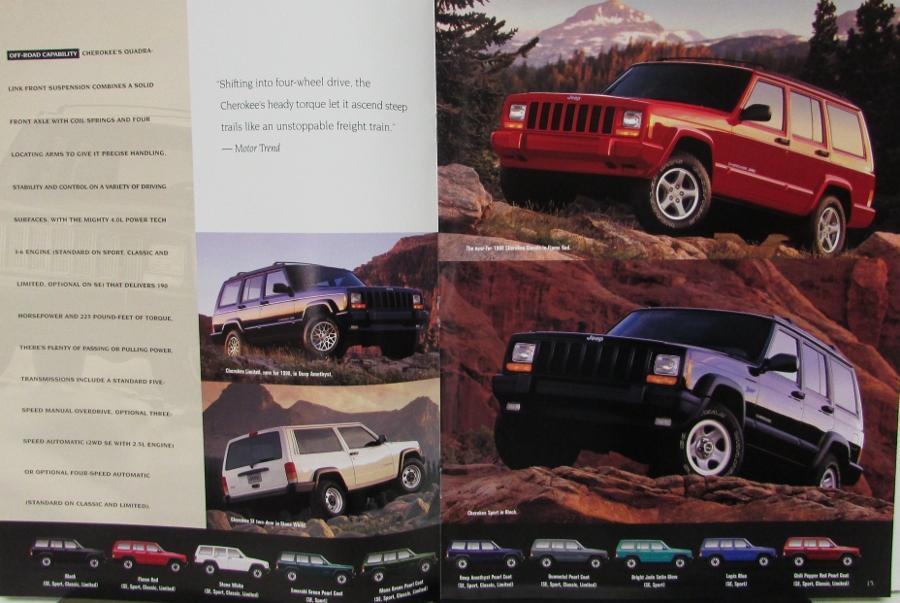 X on 1988 Jeep Cherokee